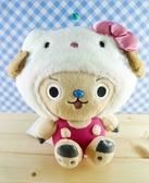 【震撼精品百貨】ONE PIECE&HELLO KITTY_聯名海賊王喬巴&凱蒂貓系列~絨毛娃娃