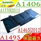 A1406 電池(保固最久)-蘋果 APPLE A1495,BH302LL/,MC506LL/A,MC965LL/A,MC968LL/A,MC969LL/A,MacBook Air 4.1