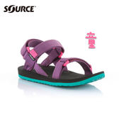 SOURCE 兒童URBAN織帯涼鞋101093BX【紫】 / 城市綠洲(織帶、輕量、快乾、抑菌)
