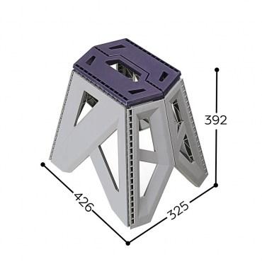 RC850-1 金剛摺合椅39CM 藍