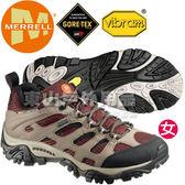 Merrell 57750 Moab Gore-Tex 女GTX多功能健行鞋 運動鞋/登山鞋/郊山鞋/健走慢跑鞋/黃金大底健走鞋
