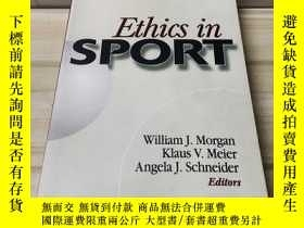 二手書博民逛書店Ethics罕見in SPORTY312914 如圖 如圖