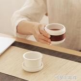 快客杯 陶瓷功夫茶具茶杯便攜旅行茶具隨手杯辦公單人日式快客杯一壺一杯 米蘭潮鞋館