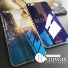 手機殼 藍光風景畫 iphone 8 i...