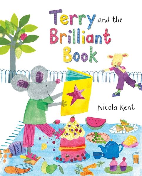 【麥克書店】TERRY AND THE BRILLIANT BOOK /英文繪本《主題:友誼.情緒管理》作家:Nicola Kent