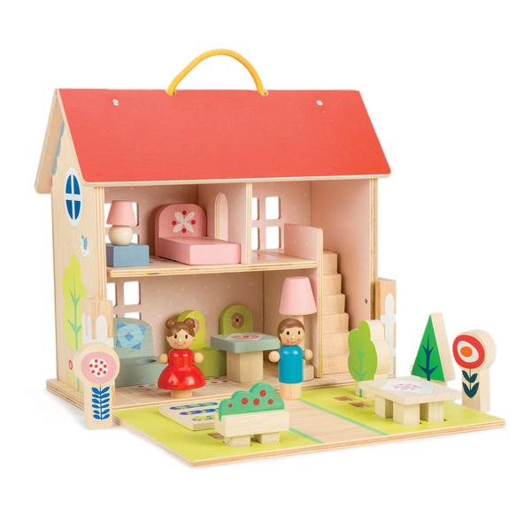 【美國Tender Leaf Toys】我的幸福小屋(娃娃屋系列)