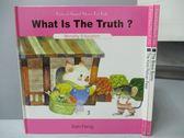 【書寶二手書T2/語言學習_KDK】The Brave Bunny_What is The Truth等_共3本合售