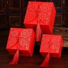 禮品盒喜糖子婚慶用品喜糖袋婚禮包裝盒紙盒禮盒糖盒創意中式衣間Mandyc