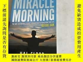 二手書博民逛書店The罕見Miracle MorningY13534 Hal E