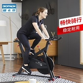 現貨 健身車 迪卡儂 動感單車家用靜音室內自行車腳踏健身車健身器材F