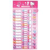 三麗鷗凱蒂貓 Hello Kitty 二代多用途貼紙 (糖果) 標示貼