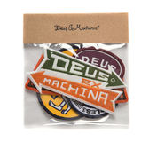 Deus Ex Machina   Mixed Patch Pack  臂章  -(多色)