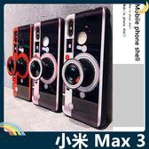 Xiaomi 小米 Max 3 紅粉相機保護套 軟殼 玻璃鏡面 全包款 氣囊支架 指環扣 繞線器 手機套 手機殼