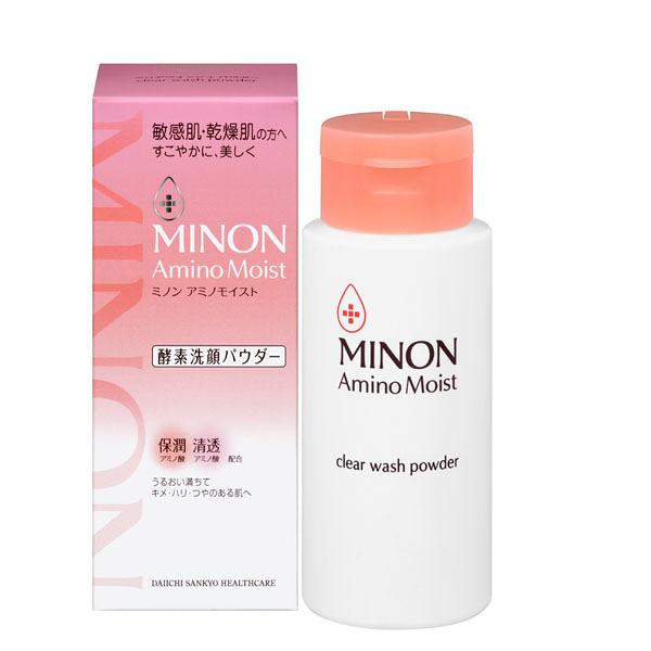 (免運)蜜濃 MINON 敏弱潤澤酵素洗顏粉35g
