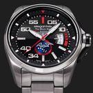 elegantsis黑蝙蝠中隊60周年紀念機械錶套組X銀鋼色・瑞士機芯機械錶・公司貨
