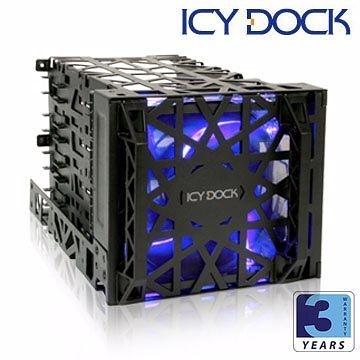 [nova成功3C]ICY DOCK MB074SP-B 4轉3 3.5吋散熱轉接模組