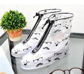 雨鞋套防滑加厚耐磨鞋套兒童男女雨鞋套戶外