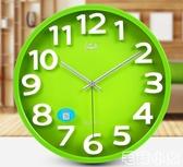 掛鐘 絲鐘表掛鐘客廳創意時尚現代簡約大氣掛墻時鐘掛表石英鐘家用【毛菇小象】