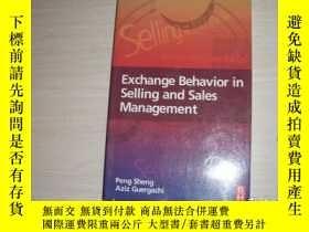 二手書博民逛書店Exchange罕見Behavior In Selling And Sales Management【641】