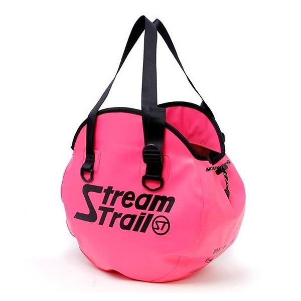 Stream Trail Helmet 圓形托特包(玫瑰粉)