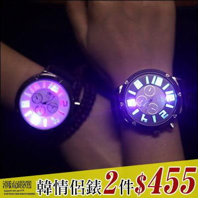 任選2件455元。ManStyle潮流嚴選潮牌發光夜光原宿風時尚矽膠果凍錶手錶【R9S0412】