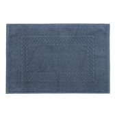 HOLA 葡萄牙純棉毛巾踏墊40x60cm方格藍