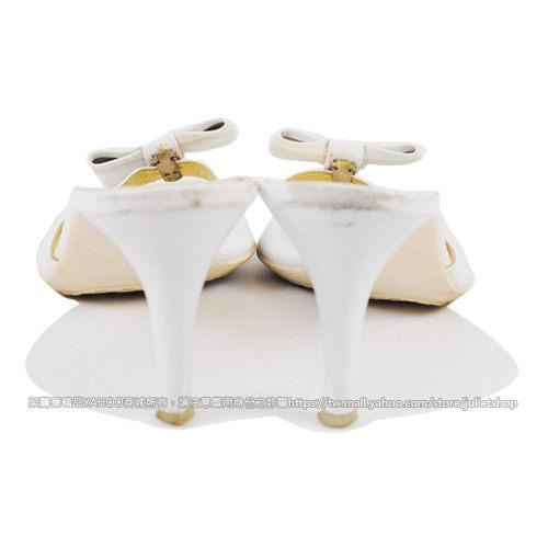 茱麗葉精品 二手名牌  【8.5成新】KENNETH COLE REACTION 時尚蝴蝶結高跟涼鞋