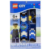 免運費【 樂高積木 LEGO 】兒童手錶 - CITY 城市特警╭★ JOYBUS玩具百貨
