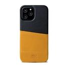 Alto iPhone 12 Pro Max 真皮手機殼背蓋 6.7吋 Metro - 焦糖棕/渡鴉黑【可加購客製雷雕】皮革保護套