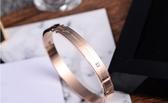 純銀情侶手鐲一對日韓版男女玫瑰金手鐲情侶手環送女友禮物 居享優品