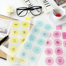 小清新圓形蕾絲裝飾貼紙 日記貼紙/多用途貼紙/裝飾貼紙 7S MINI 25 50S MINI 8 90 MINI90