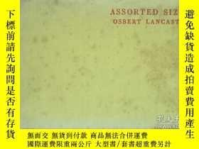 二手書博民逛書店ASSORTED罕見SIZES 各種尺寸(1944年英文原版畫冊