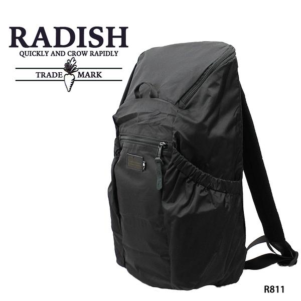 黑色-輕量機能後背包  AMINAH~【 RADISH R811】
