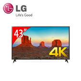 «0利率/免運費»LG樂金43吋4K智慧連網電視  43UK6320PWE IPS硬板UHD【南霸天電器百貨】