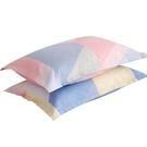 枕套 老粗布枕套一對裝純棉成人大小號40×60全棉枕頭套兒童30×50單人