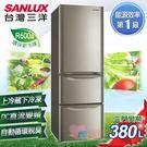 淘禮網 SANLUX 台灣三洋 380公...