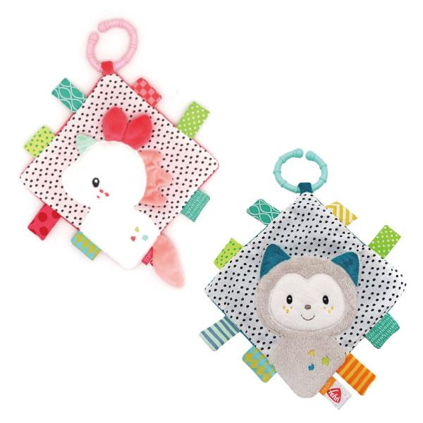 德國 BabyFEHN 芬恩 櫻花甜心系列方形安撫巾 (2款可選)