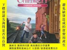 二手書博民逛書店The罕見Boxcar Children-Caboose Mys