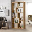 新品上市/簡單樂活-康迪仕造型隔間櫃/書櫃/DIY組合產品-兩色可選