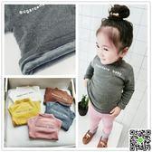 女童加絨打底衫新款韓版兒童寶寶加厚長袖T恤保暖衣高領上衣1-3歲 歡樂聖誕節