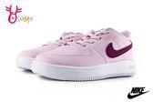 NIKE FORCE 1 18 (TD) 小童 寶寶運動鞋 免綁帶 套入式 休閒鞋 P7012#粉紫◆OSOME奧森鞋業