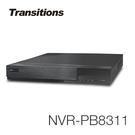 全視線 NVR-PB8311 8路 H.265 快速設定網路型錄放影機