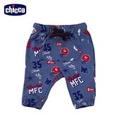 【零碼出清】chicco-TO BE Baby男童-塗鴉風抽繩長褲