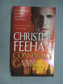 【書寶二手書T3/原文小說_KKA】Conspiracy Game_Christine Feehan