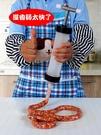 灌香腸器自制灌臘腸工具手動小型灌腸機兒童做香腸機家用罐烤腸衣 【99免運】