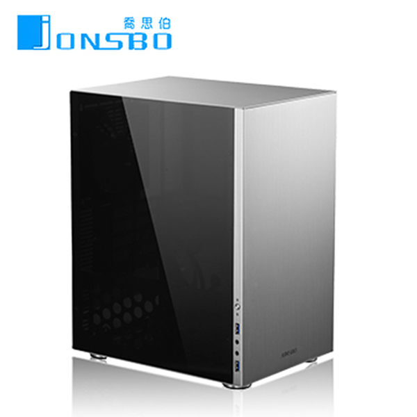 JONSBO C3 Full Window MATX(3小) 全機鋁鎂合金機殼(新版透側銀)