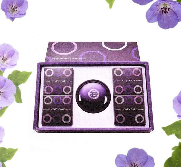 [禮盒好評推薦]SHISEIDO資生堂   紫麗蘭香皂禮盒NA 4+1  (五入) 一盒 [ IRiS 愛戀詩 ]