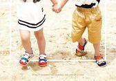 涼鞋男童涼鞋新品正韓夏季包頭童鞋防滑兒童1-2-3歲4男寶寶鞋lx73   聖誕節下殺