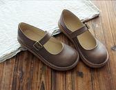 大頭鞋原宿風單鞋圓頭鞋娃娃鞋平底鞋