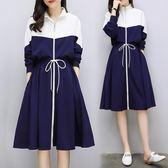 大尺碼洋裝春新款顯瘦大碼女夏200斤胖mm減齡微胖連衣裙 mc7535『東京衣社』